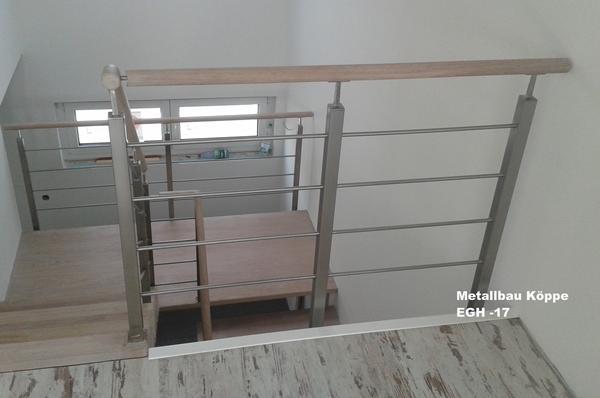 edelstahl holz treppengel nder. Black Bedroom Furniture Sets. Home Design Ideas