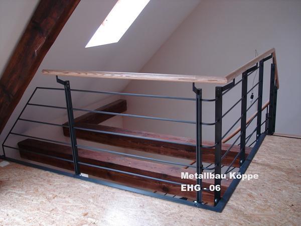 Treppengelander holz und metall for Design haus innen