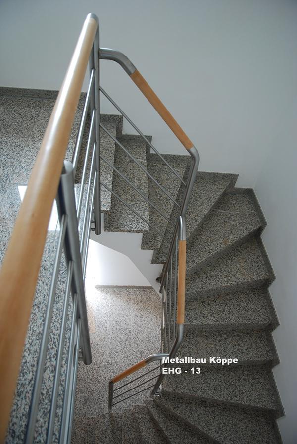 Neues Treppengeländer Holz Kosten ~ Edelstahl  Holz Treppengeländer
